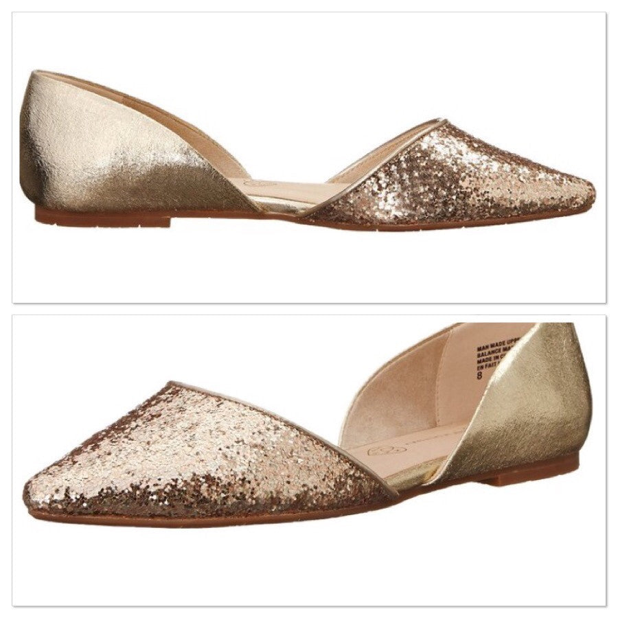 Gold Flats - Haute Stuff Boutique