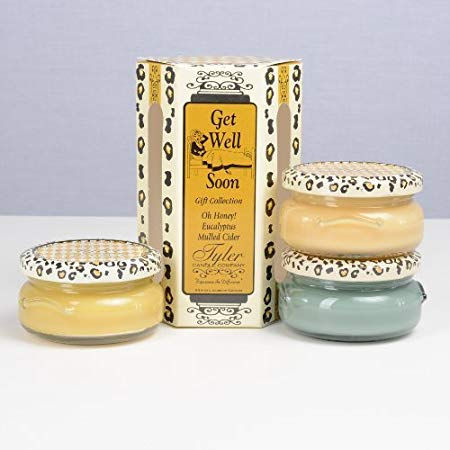 Tyler Candle Gift Sets - Happy Birthday, Baked, Cheaper Than Therapy, Get Well Soon, Our Favorites
