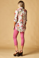 Fiore Lightweight Long Sleeve Blouse - Haute Stuff Boutique