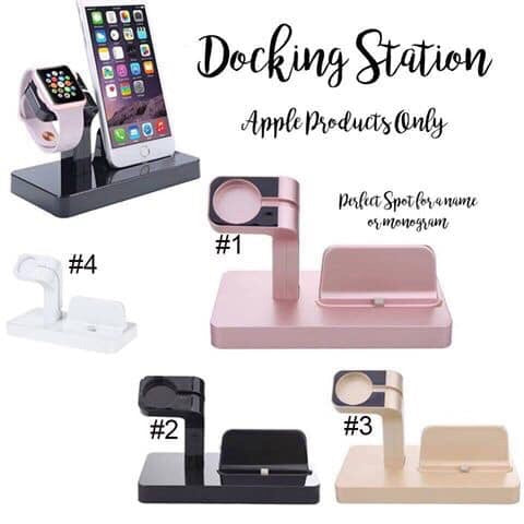 Charging & Docking Station For Apple Products