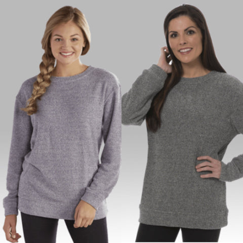 Cozy Crew Neck Sweatshirt - Regular & Plus Size