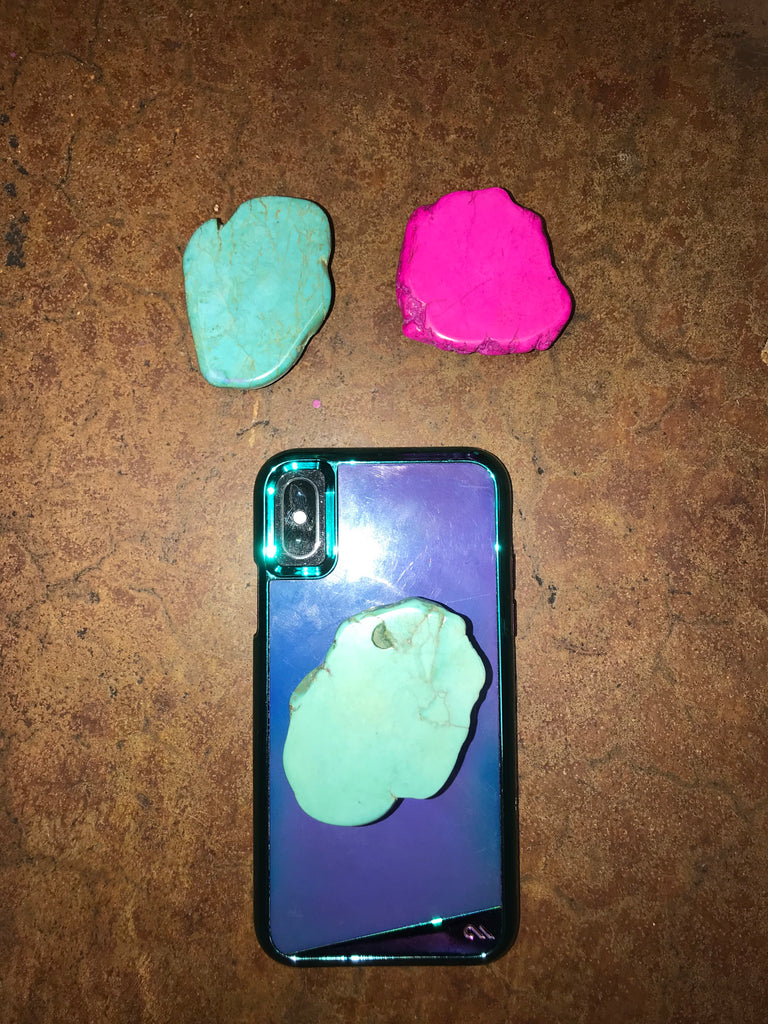 Stone Pop Socket Phone Grips - Haute Stuff Boutique