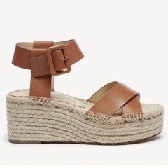 Audrina Platform Espadrille Sandal in Cognac by Sole Society - Haute Stuff Boutique