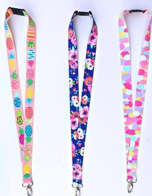 Happy Lanyards by The 3 Happy Hooligans