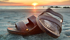 Pali Hawaii Sandals - Jandals In Light Brown - Haute Stuff Boutique