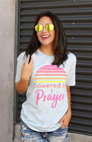 ATX Mafia - Powered By Prayer Short Sleeve Tee