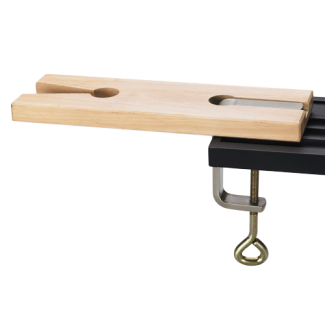Bench Pin - V Slot with Clamp