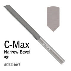 GRS® C-Max Carbide Gravers - Narrow Bevel