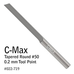 GRS® C-Max Carbide Gravers - Tapered Round