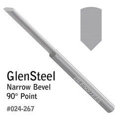 GRS® GlenSteel Narrow Bevel Gravers