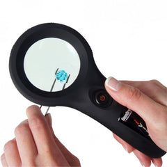 GemOro® iVIEW Handheld LED Magnifier