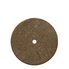 Dedeco® Classic Rubber Brown Lathe Wheel 4""