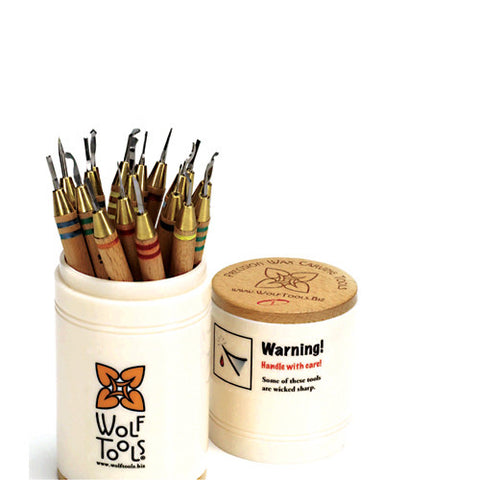 Wolf Precision Wax Carver Set
