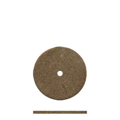 "Dedeco® Classic Rubber Brown Sq. Edge Wheels 5/8"" - Interproximal"