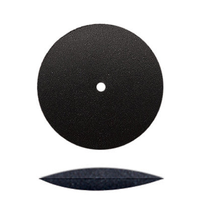 Black Silicone Unmounted Knife Edge Wheels 7/8""