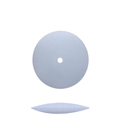 Blue Silicone Unmounted Knife Edge Wheels 5/8""