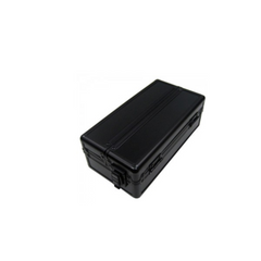 Aluminum Parcel Paper Case Black - Single Row
