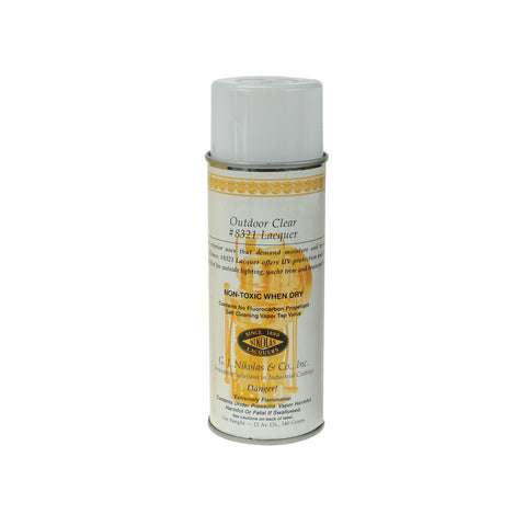 GRS® Spray Lacquer - Outdoor Clear