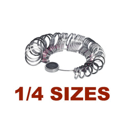 Finger Sizer - Flat 1/4 Sizes