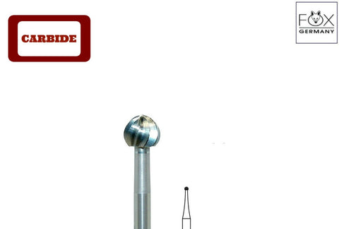 Fox® #TC1 - Carbide Round Burs