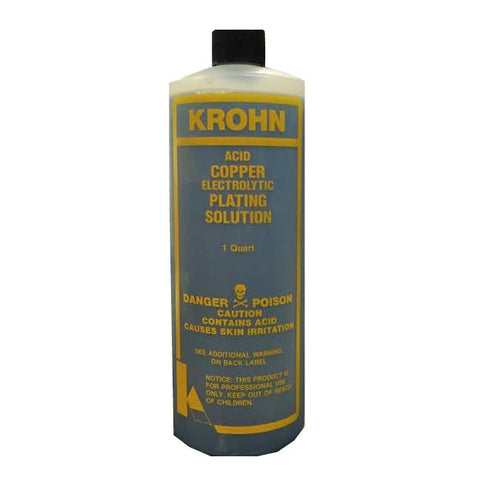 Krohn® Copper Plating Solution