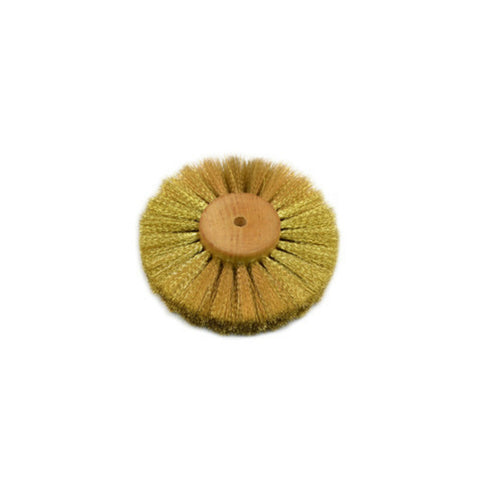 Brass Wire Brush - Crimped