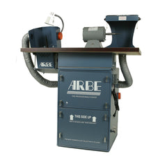Arbe® Polishing System - Floor Single Spindle Motor + Lapping Machine + Hood