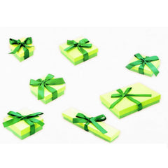 Bow Ribbon Boxes - Green