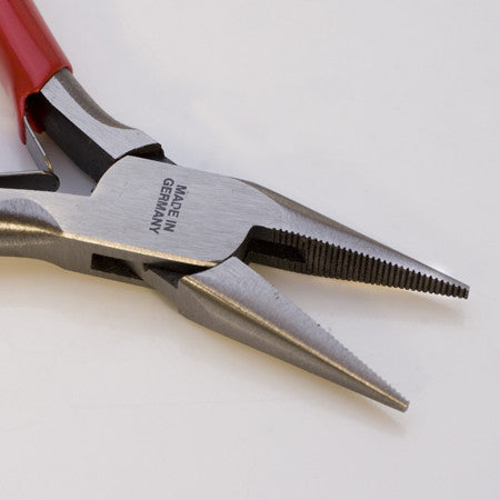 German Pliers - Chain Nose Serrated