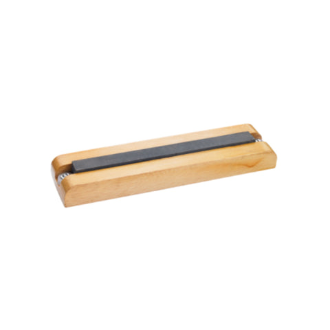 Screwdriver Sharpening Stone with Wood Base