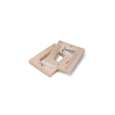 Aluminum Mold Frames - Single Cavity