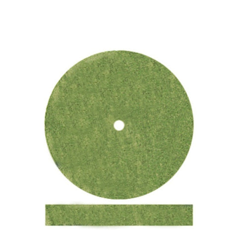 Pumice Wheels Square Edge - Green