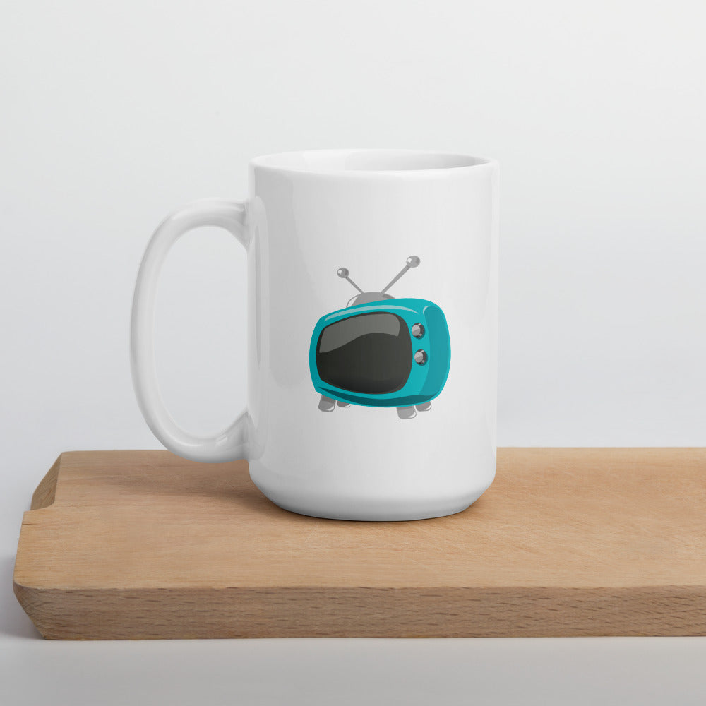 Blue TV WebStore TV Mug - Web Store TV WSTV