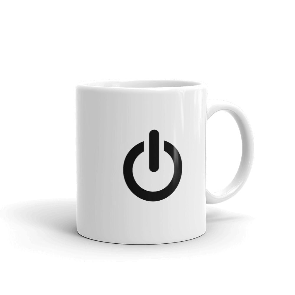 On-Off Button Mug WebStore TV - Web Store TV WSTV