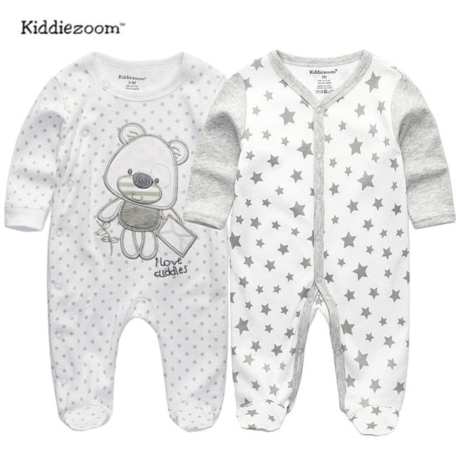 2019 baby clothes Full Sleeve cotton infantis baby clothing