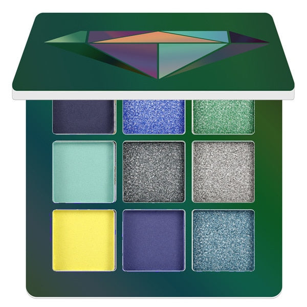 9 Colors Glitter Eyeshadow Makeup Pallete Matte Eye shadow