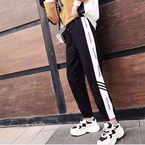 Summer Harem Pants hip hop fashion loose beam legs