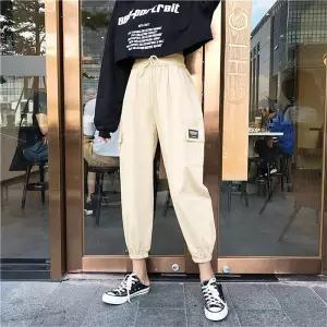 Cargo Pants Women Hip Hop Pants Female Streetwear Capris