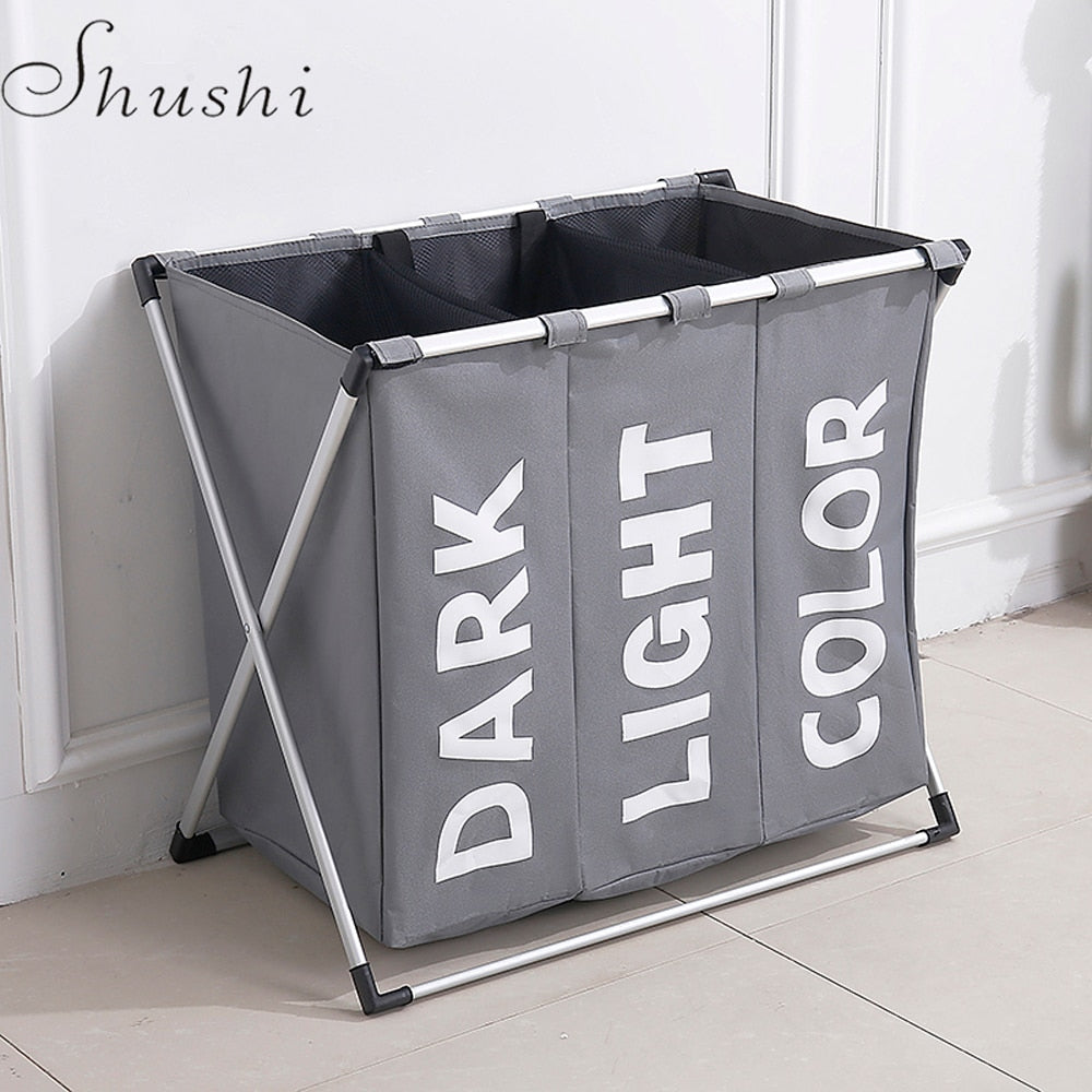 Shushi hotselling water proof three grid laundry organizer