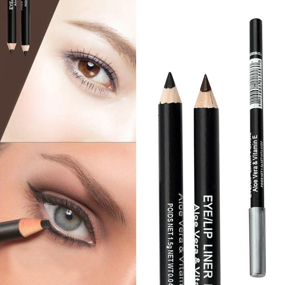 Fashion Professional Makeup Black Brown Eyeliner
