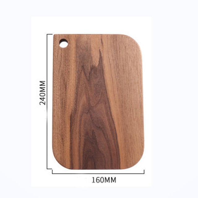 Black Walnut Whole Wood Kitchen  Cutting Board