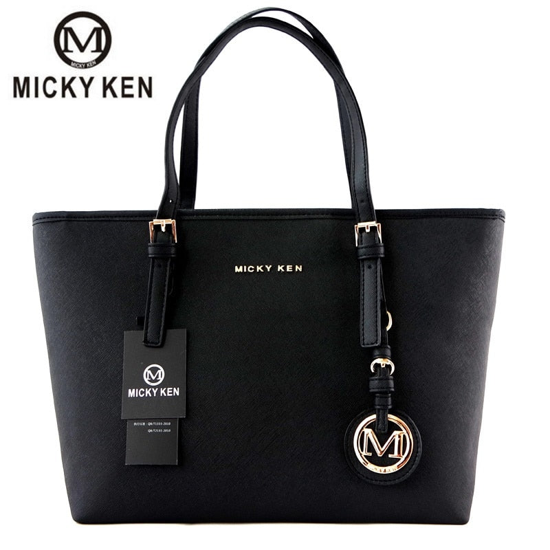MICKY KEN 2019 New Women Handbag PU Leather Crossbody Bag