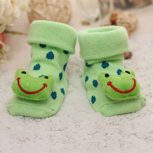 Baby Socks Floor Non-slip Cotton Cartoon Doll socks