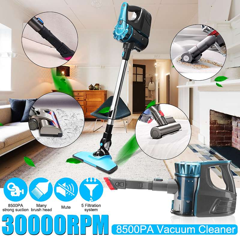 2 in 1 100-240V 30000RPM Corded Handheld Home &Commercial Vacuum Cleaner