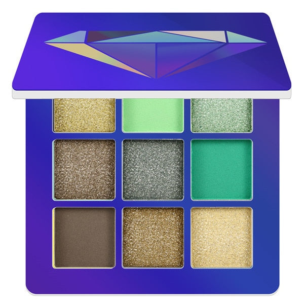 9 Color Yellow Beauty Glazed Makeup Eyeshadow Pallete Makeup