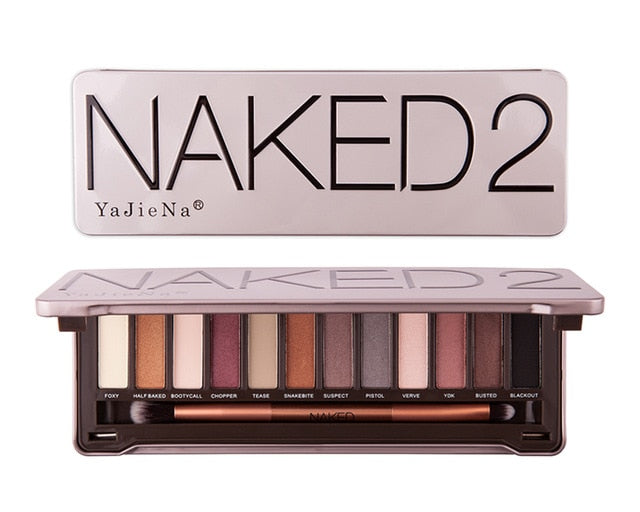 Nk 2 3 5  Pro Nude 12 Color Matte Shimmer Waterproof