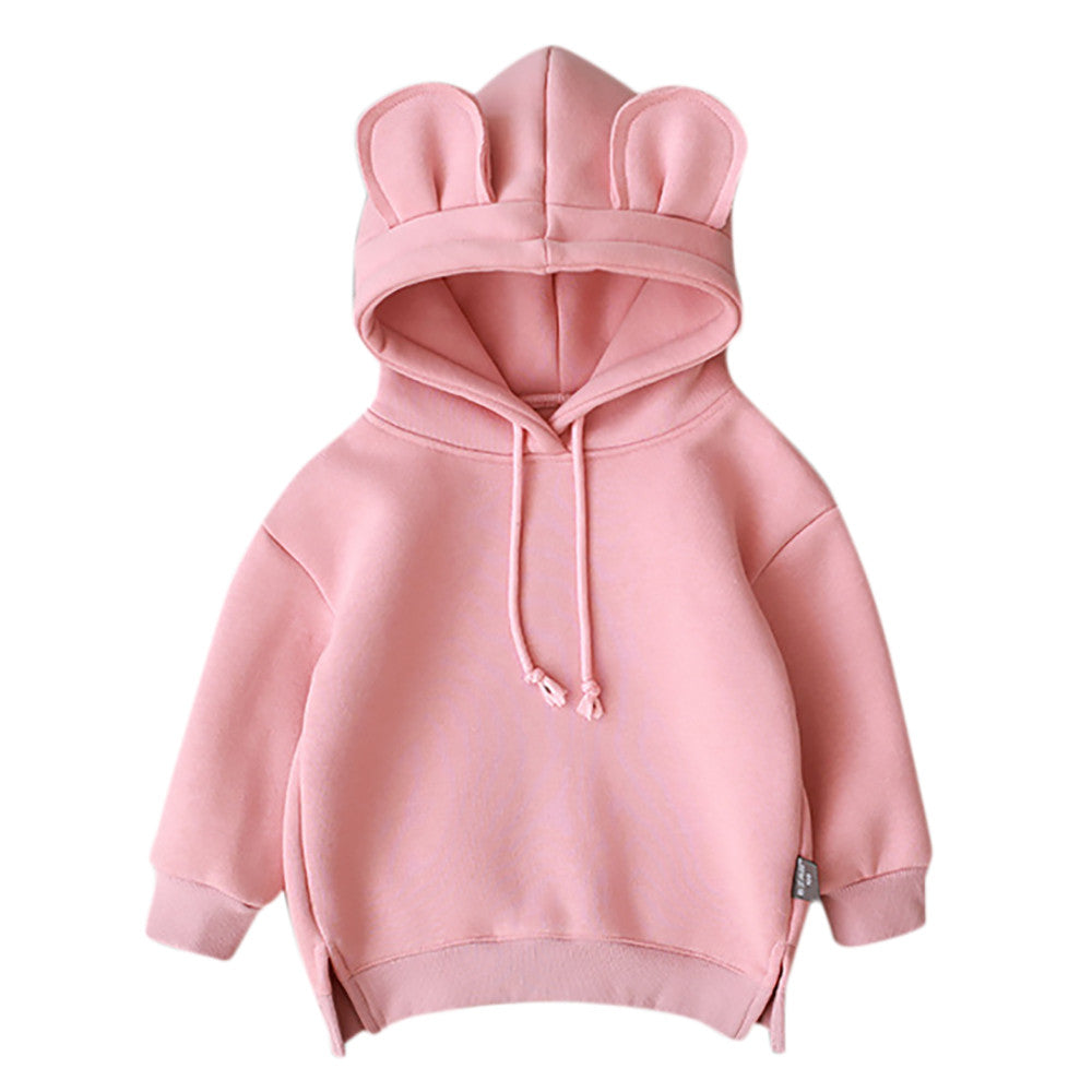 MUQGEW Winter Toddler Baby Kids Boy Girl Hooded
