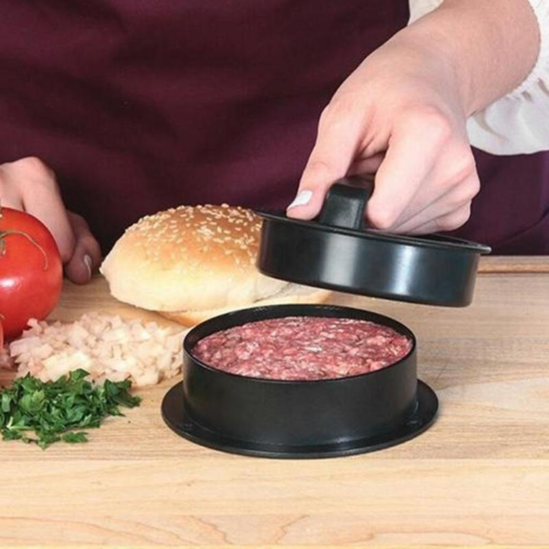 ABS Hamburger Maker Hamburger Press Round Shape Non-Stick
