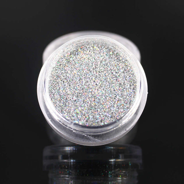 2019 New Silver Glitter Eyeshadow 12 Color Glitter Eyes Palette