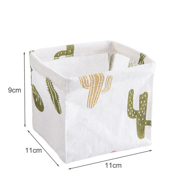 MICCK DIY Desktop Basket Sundries Underwear Toy Storage Box